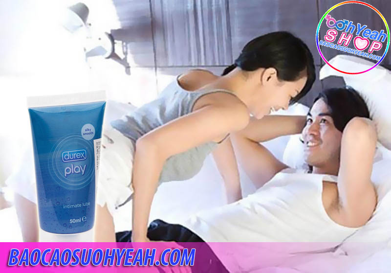 Gel bôi trơn Durex Play Intimate 50ml  - gel boi tronwz durex play intimate - Gel bôi trơn Durex Play Intimate 50ml