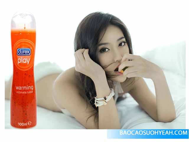 Gel bôi trơn Durex Play Warming