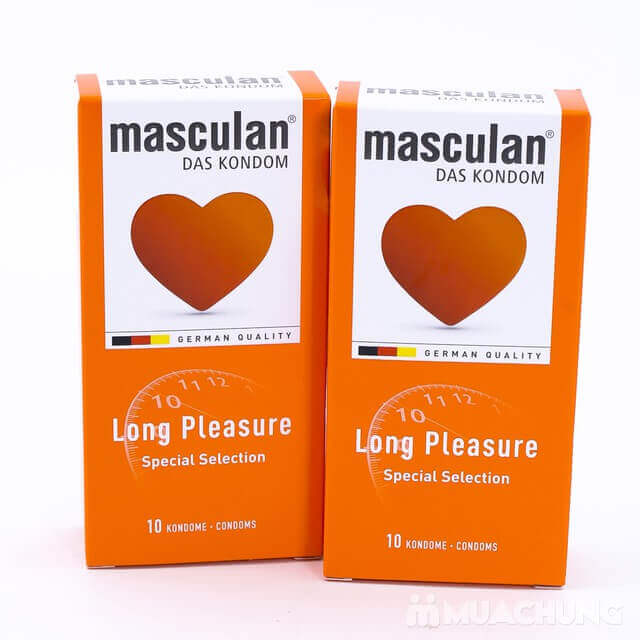 Bao Cao Su MASCULAN Long Pleasure 5 in 1  - 2 hop bao cao su Masculan Long Pleasure Special1 - Bao Cao Su MASCULAN Long Pleasure 5 in 1 của Đức – Gân Gai Kéo Dài Thời Gian Quan Hệ – Tăng Cường Khoái Cảm